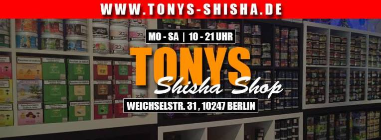g nstige shishas online kaufen shisha tabak preiswert kaufen tonys shisha shop in berlin. Black Bedroom Furniture Sets. Home Design Ideas